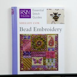 RSN Essential Stitch Guide Bead Embroidery by Shelley Cox