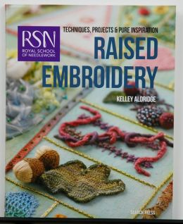 RSN Raised Embroidery by Kelley Aldridge