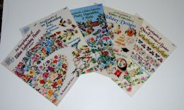 5 books in The American School of Needlework's Series Ribbon Embroidery