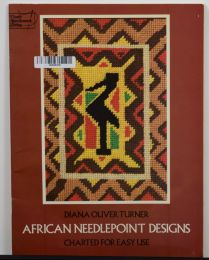 African Needlepoint Designs by Diana Oliver Turner