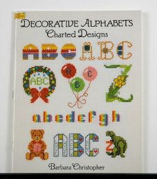 Deocrative Alphabets Charted Designs by Barbara Christopher