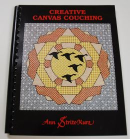 Creative Canvas Couching with CD by Ann Strite-Kurz