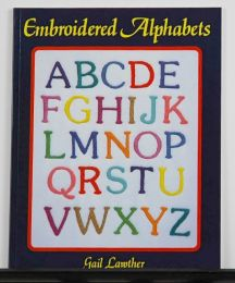 Embroidered Alphabets by Gail Lawther