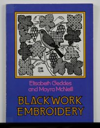Blackwork Embroidery by Elizabeth Geddes & Moyra McNeill