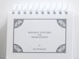 Holiday Stitches for Needlepoint by June McKnight