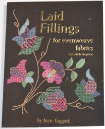 Laid Fillings for Evenweave Fabrics by Jean Taggert