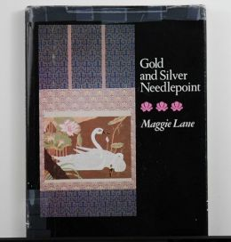 Gold and Silver Needlepoint by Maggie Lane  OVERSTOCK SALE