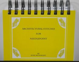 Architectural Stitches for Needlepoint by June McKnight