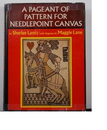 A Pageant of Pattern For Needlepoint Canvas by Sherlee Lantz
