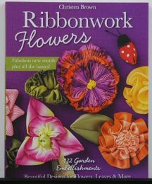 Ribbonwork Flowers by Christen Brown