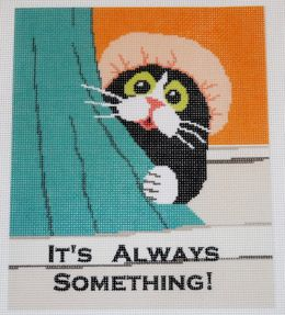 CLEARANCE Beginners It's Always Something Needlepoint Kit