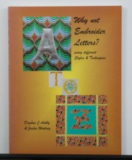 DISCOUNT Why Not Embroider Letters? by Daphne Ashby & Jackie Woolsey
