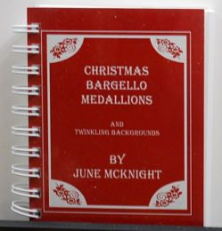 Christmas Bargello Medallions by June McKnight