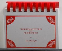 Christmas Stitches for Needlepoint by June McKnight